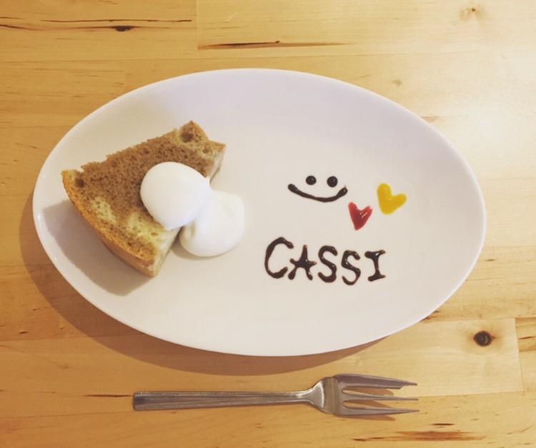 cassi デザート